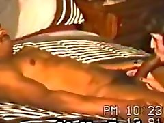 Vintage mommy swinger cums hardcore on ebony sextoy