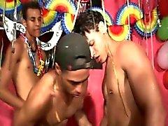 Caribbean Homosexuell Dreier BAREBACK Titel Geschlechts