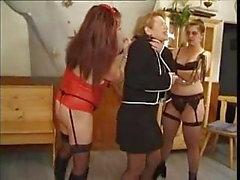 Schiavo Lesbiche Francese