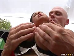 Office milf with Big knocker Jewels Jade gets slam fucked