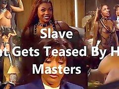 Slave, der von ihrem Herren neckte bekommt
