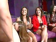 Cocksucking amateurs at euro party sucking dick