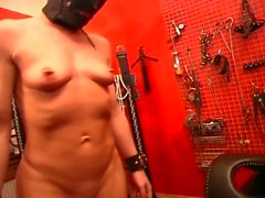 Mistress catches slave couple having sex and humiliates them