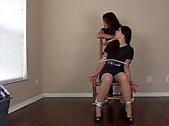 Trumpfhose Chair Kitzeln