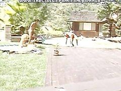 Свингер пары чертовски на улице
