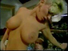Klassisch szenen mit Vintage Stern Samantha Strong getting fucked