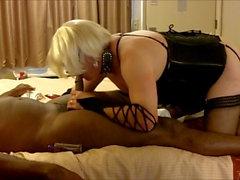 Sissy Amber suga BBC no Hotel Party 8-16-18