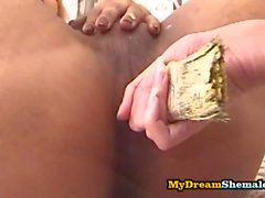 Jaqueline & Jack Fontinelly: Blonde Trannies Fucking Each Other