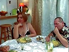 Trio française , metisse , papy
