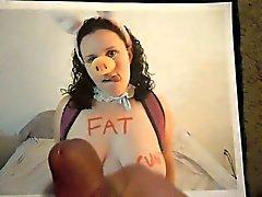 Выражение толстый свиньей