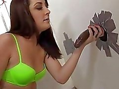 Marley Blaze interracial analfuck at gloryhole