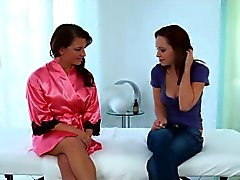 lesbisk massage