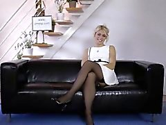 Stockings amateur blows