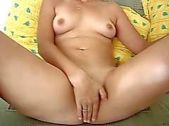 Gorgeous mature wife masturbating