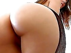 Bootylicious hete babe Jenna Haze plaagt iedereen met haar verbazingwekkend ronde kont