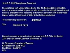 Kayden Faye Fast Times At College
