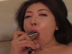 Cerrar el sexo con gran trasero de pollo asiático caliente