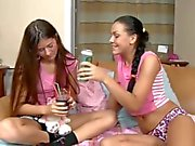 Petite Beauties' Lesbian Games...F70