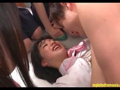 Jav Idol Imari Morihoshi Fucked By Teacher In Front Of Classmates Cheeky Teen Big Tits Gets Creampie