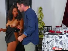 DP Star 3 - Ebony Tetas Grandes Jenna Foxx Deep Throat Mamada