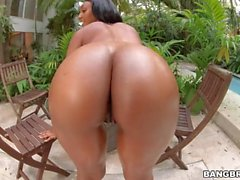 Arianna Knight gioca con Massive Dick