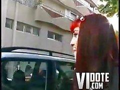 Redhead teen goth analed