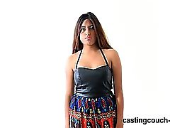 Castingcouch-HD - Nala worships a black dick at casting call