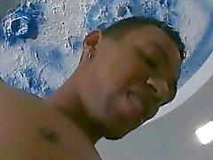 Sexy Латиноамериканец анальный ебля