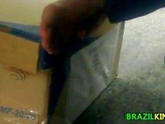 Piedi di ragazze brasiliane e suole Close Up