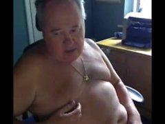 дедуля играть на веб-камеру