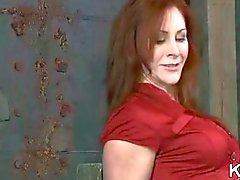 Redhead mature bound