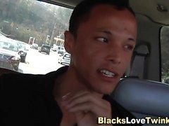 Black amateur facializes