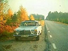Swedish classic porn - Broken Car