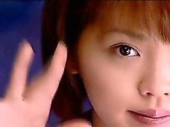 MVHN como subtítulo Color Senzuri estudante japonesa