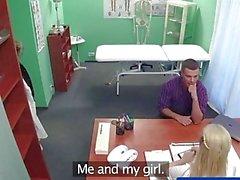 FakeHospital sairaanhoitaja on perseestä munaa siemennestenäytteestä