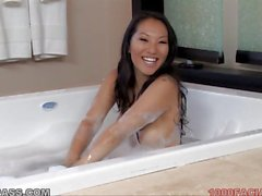 Asa Akira gets a Facial at 1000facials