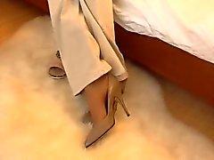 Odore i piedi di nylon 1