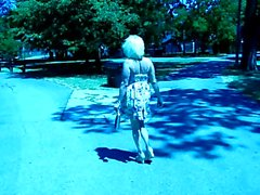 squirtys spazieren im Park