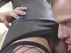 Tgirl Трансвистит трахает задницу