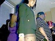 Festa in casa ! - Crazy Grandi Culi spettacolari nel colore Viola le ghette
