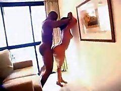 phat booty brazilian babe fucked hard by Big Black Cock