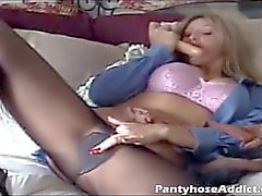 Lexi Loves to Smell Pantyhose