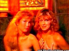 Hot lesbian pool sex