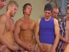 Gangbang gay allemand