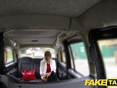 Fake Taxi skinny blonde with small ass gets anal