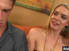 Busty blonde Ficken mit Keira Nicole