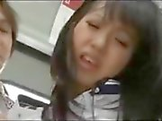 Arresting Japanese foxy with a groovy snatch, Kotomi Asakura, gets screwed on the train
