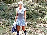 naughty-hotties net - bavarian hottie lost in