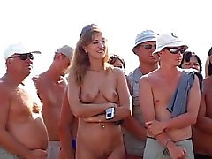 camp de la nudist de Russie
