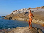 Russian girl Katya - Corsica Dance